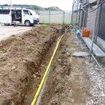 ガス埋設配管