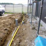 ガス埋設配管②