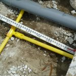 ガス埋設配管④