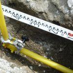 ガス埋設配管⑧